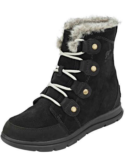 Sorel Expl**** Joan Boots Women Black/Dark Stone